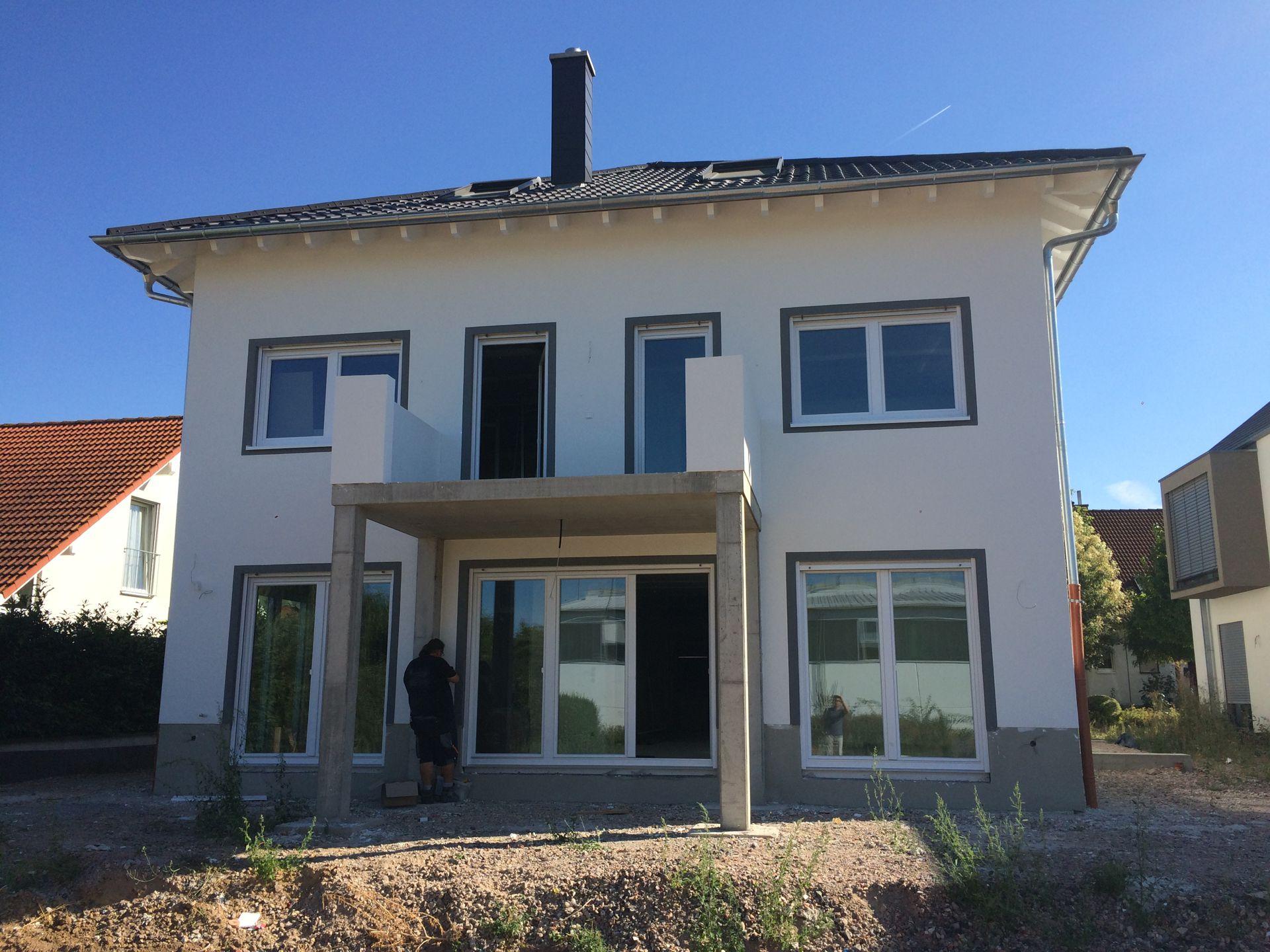 architekturb ro guhmann neubau einfamilienhaus in edesheim 2016. Black Bedroom Furniture Sets. Home Design Ideas